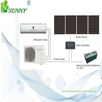 Hot sale air conditioner DC 48V 100% full solar air conditioners 3D inverter type