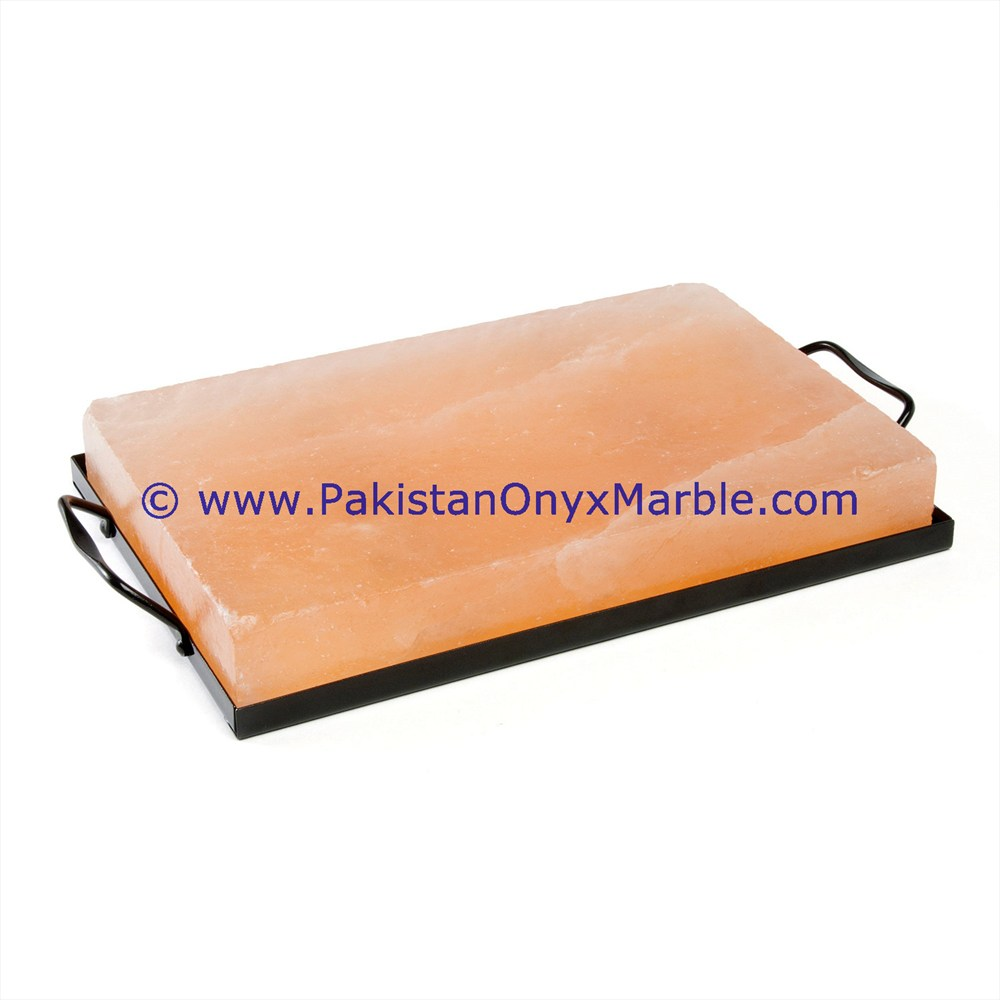 BEST QUALITY HIMALAYAN PINK SALT COOKING TILES PLATES BRICKS BLOCKS TRAY