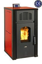 Wood Pellet Stove With Water Jacket Boiler Prity PLW13