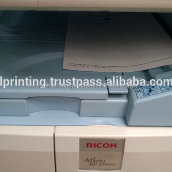Ricoh MP 2500 used MFP fully functioning