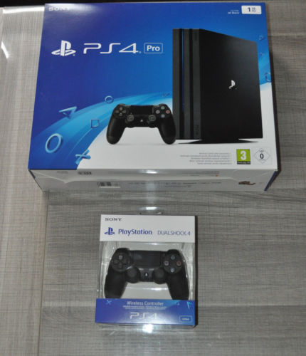 Brand New Sony PlayStation 4 SLIM - 1TB, PS4 PRO Video Game Console 4K HDR Gaming 2 Controllers BUY 10 GET 6 FREE