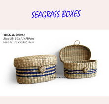 Nice gift seagrass boxes - Viet Nam seagrass boxes