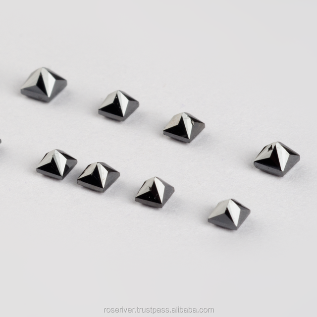 Best Quality Wholesale Price Loose Natural Black Diamonds