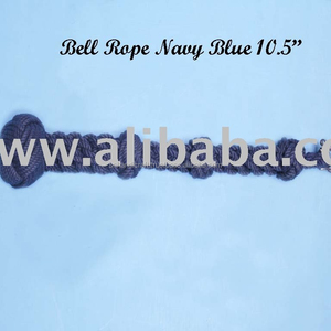 navy blue bell lanyard navy blue bell rope cotton bell rope nautical bell rope ship bell rope