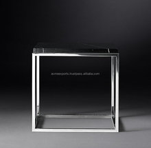 Contemporary Metal Side Tables | Stainless Steel Coffee Table