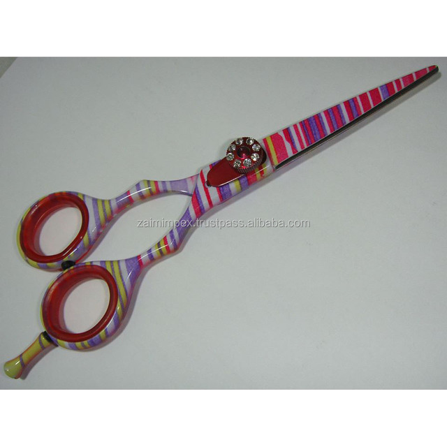 New Beautiful Professional Hair Cutting Barber Scissor/Thinning Barber Scissors/Custom Color