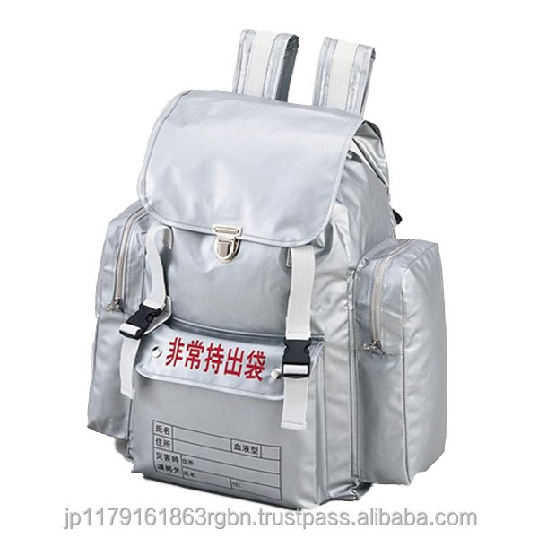 Convenient and Durable emergency kit for natural disasters created by Japan