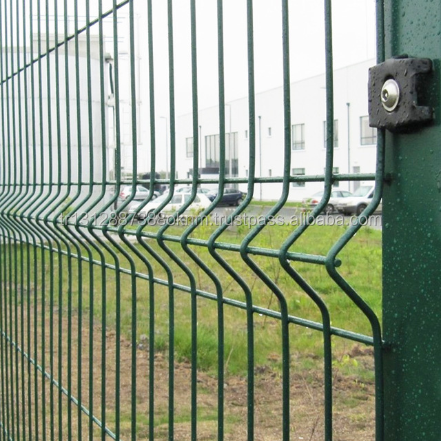 Hot Dipped Galvanized Steel Mesh Temporary Wire Fence