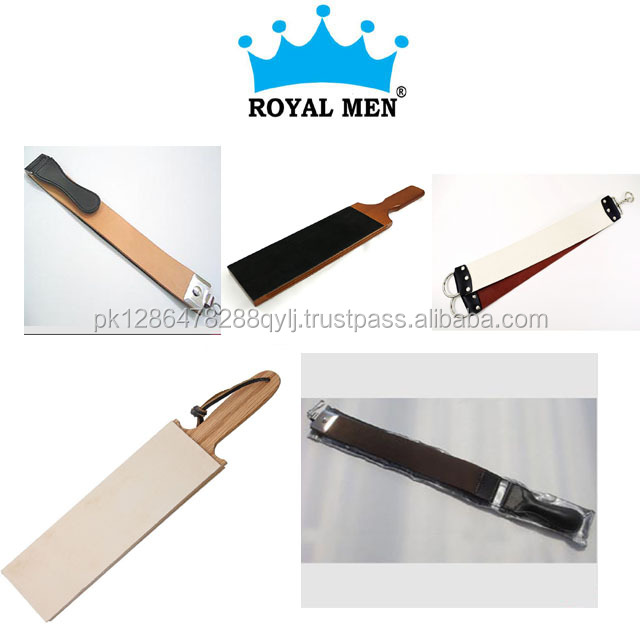 Royal Men stainless steel razor and brush shaving stand