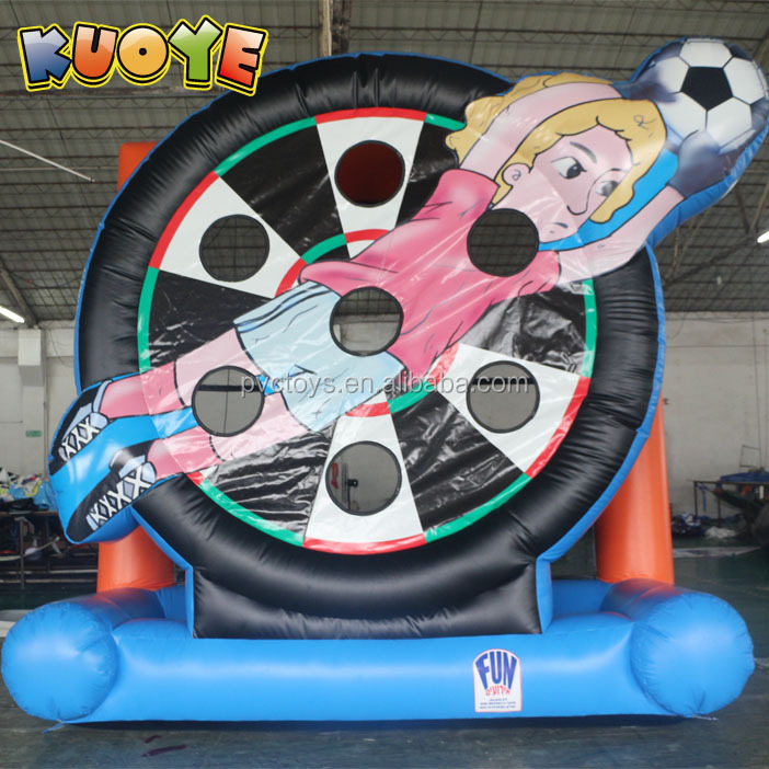 Inflatable Foot Darts Soccer Dart board inflatable soccer goal soccer shooter games