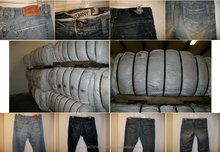 Baled Used Recycled Denim Jeans Grade A