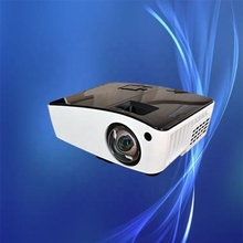 China factory hot selling and best quality 4000 lumen led 4k dlp 3D smart <strong>projector</strong> for school and meeting