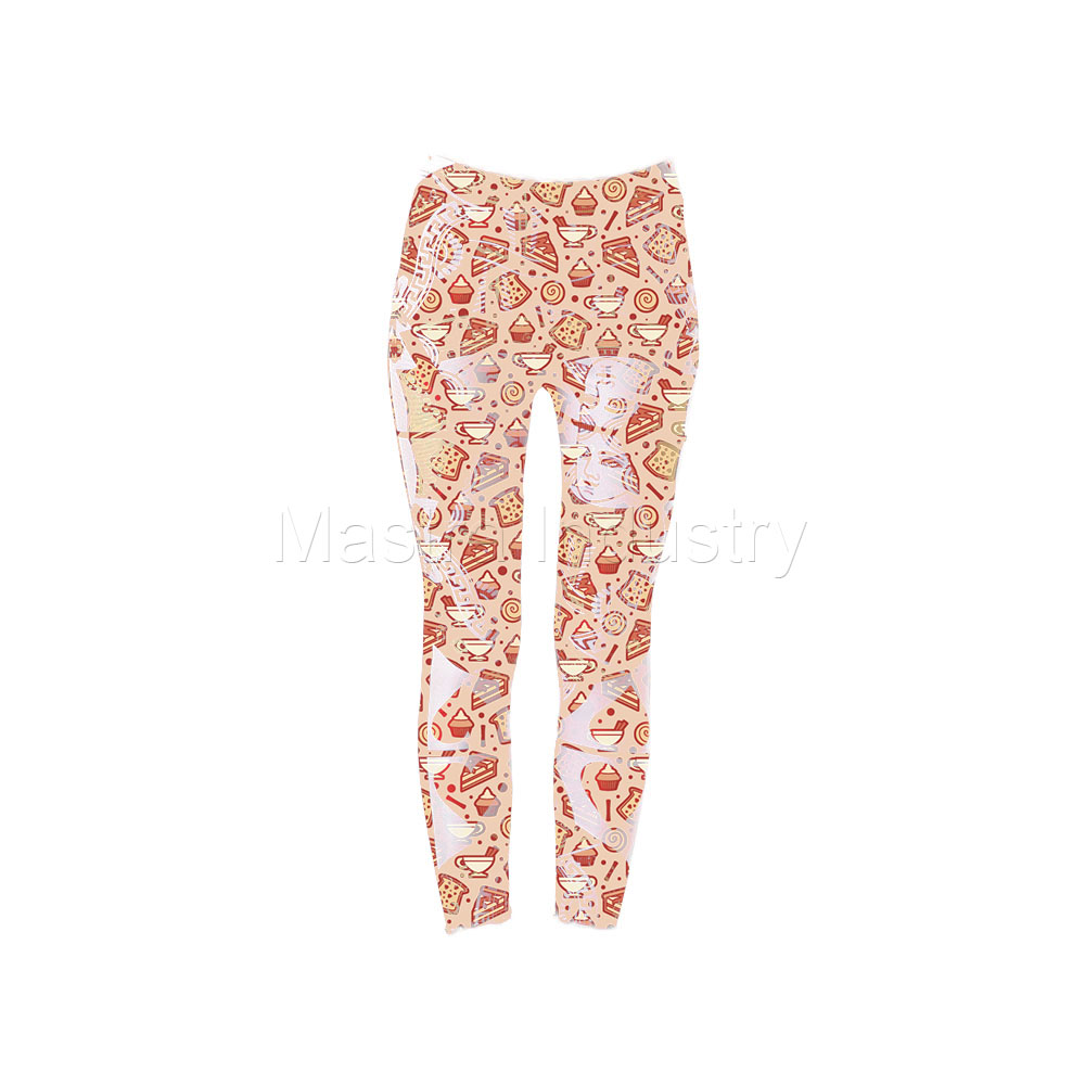 Cup Cake Sublimated Leggings Tights