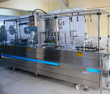 Ice cube filling machine AUTOMATIC TERMOFORM PACKING MACHINE