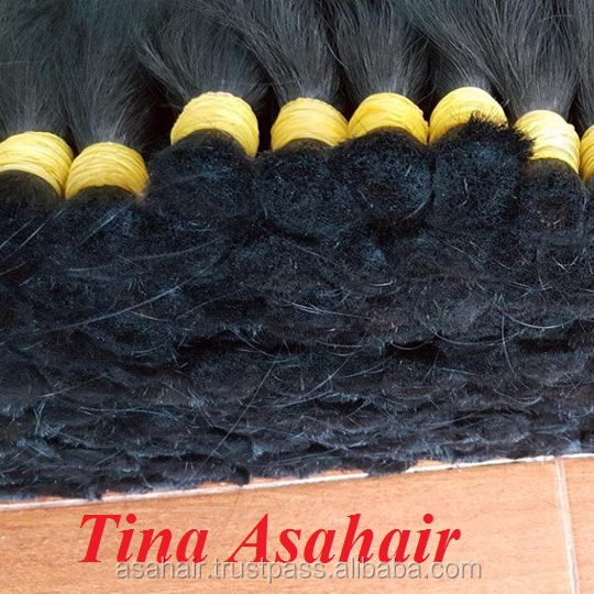 Wholesale Lowest Price Bulk Human Silky Straight Hair Vietnamese, Cuticle Aligned Hair Weave