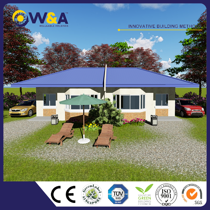 (WAS1009-40M)New Product Low Cost Steel Prefabricated Modular Homes Prices for Family