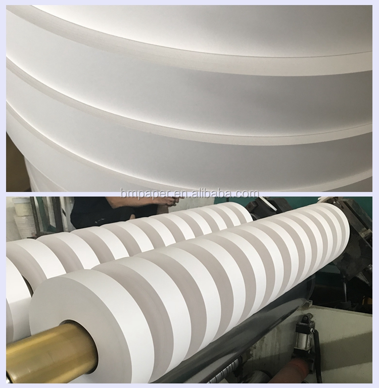 Popular roll printed 60g straw paper / White kraft paper for paper straw