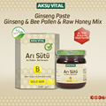 Royal Jelly, Pollen, Honey Mixture Paste Super Dose Ayurvedic Food Product Ensure Nutrition