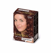 Impression Henna Hair Color Copper Brown