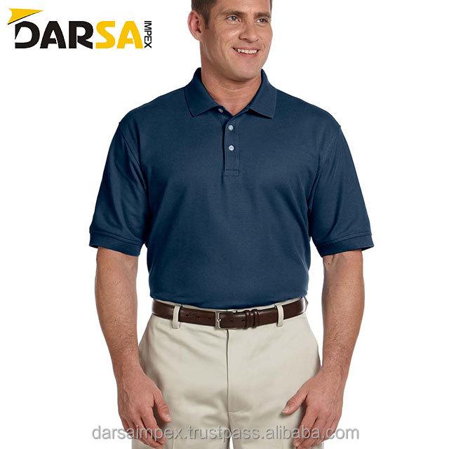 100% Cotton Latest Design Polo Shirt Color Combination Men's Polo Shirt Design fade green color polo shirt