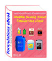 Industrial Cleaning Products formulations eBook