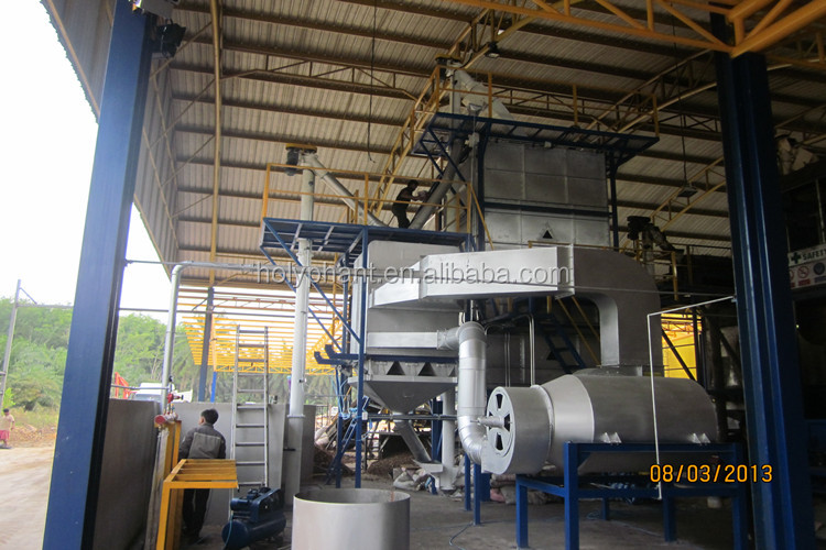 1-20T/H Professional Factory complete set of palm oil mill equipment