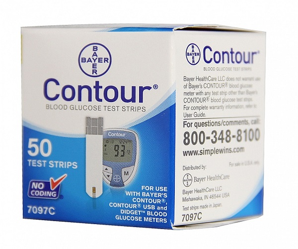 Quick check blood glucose meter contour blood glucose test strips cheap price