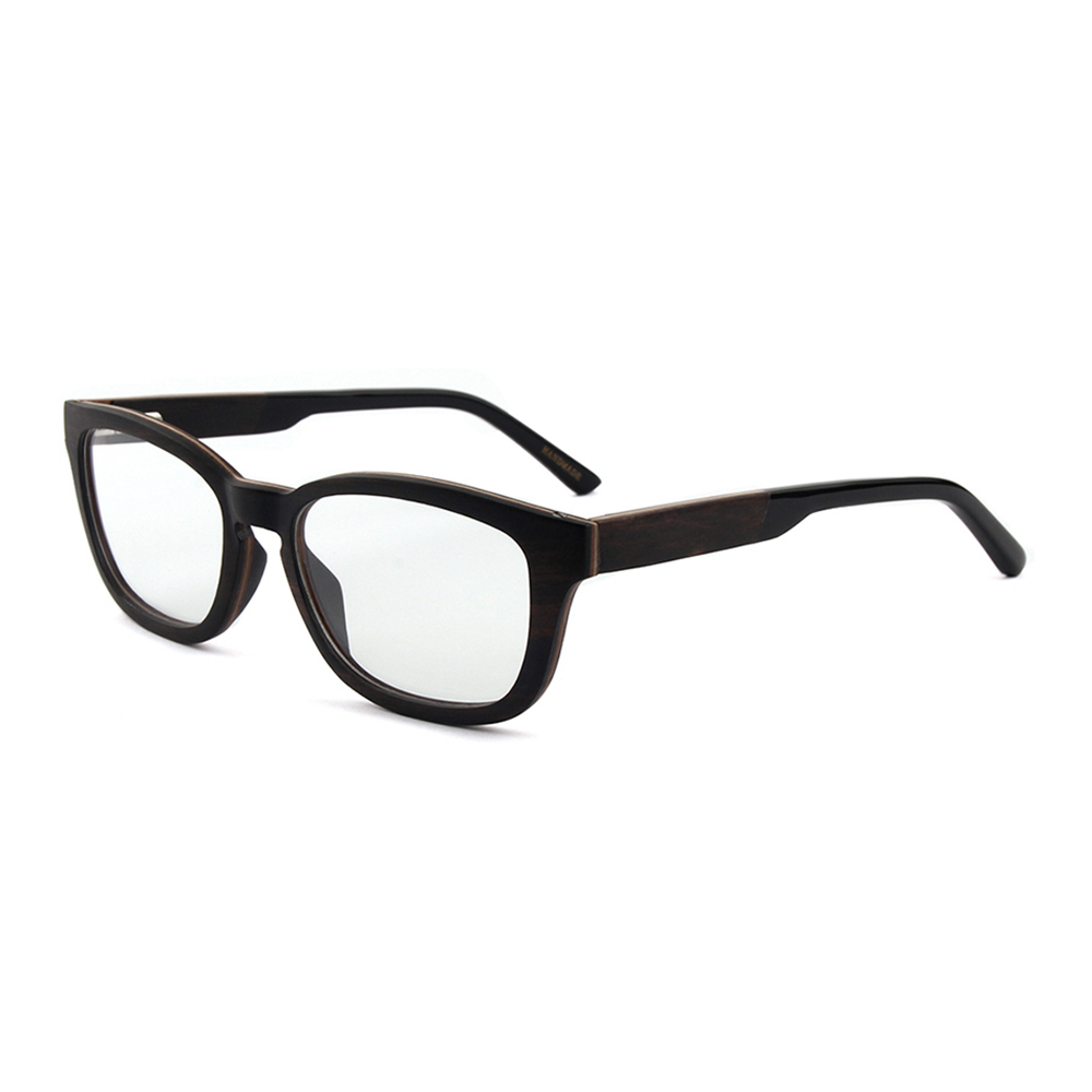 Full Frame Innovative Wood Eyewear Reading Glasses Frame Acetate ...