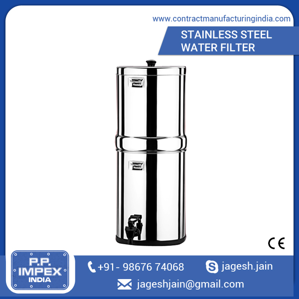 Buy Daily Home Use Stainless Steel Water Filter at Sale Price