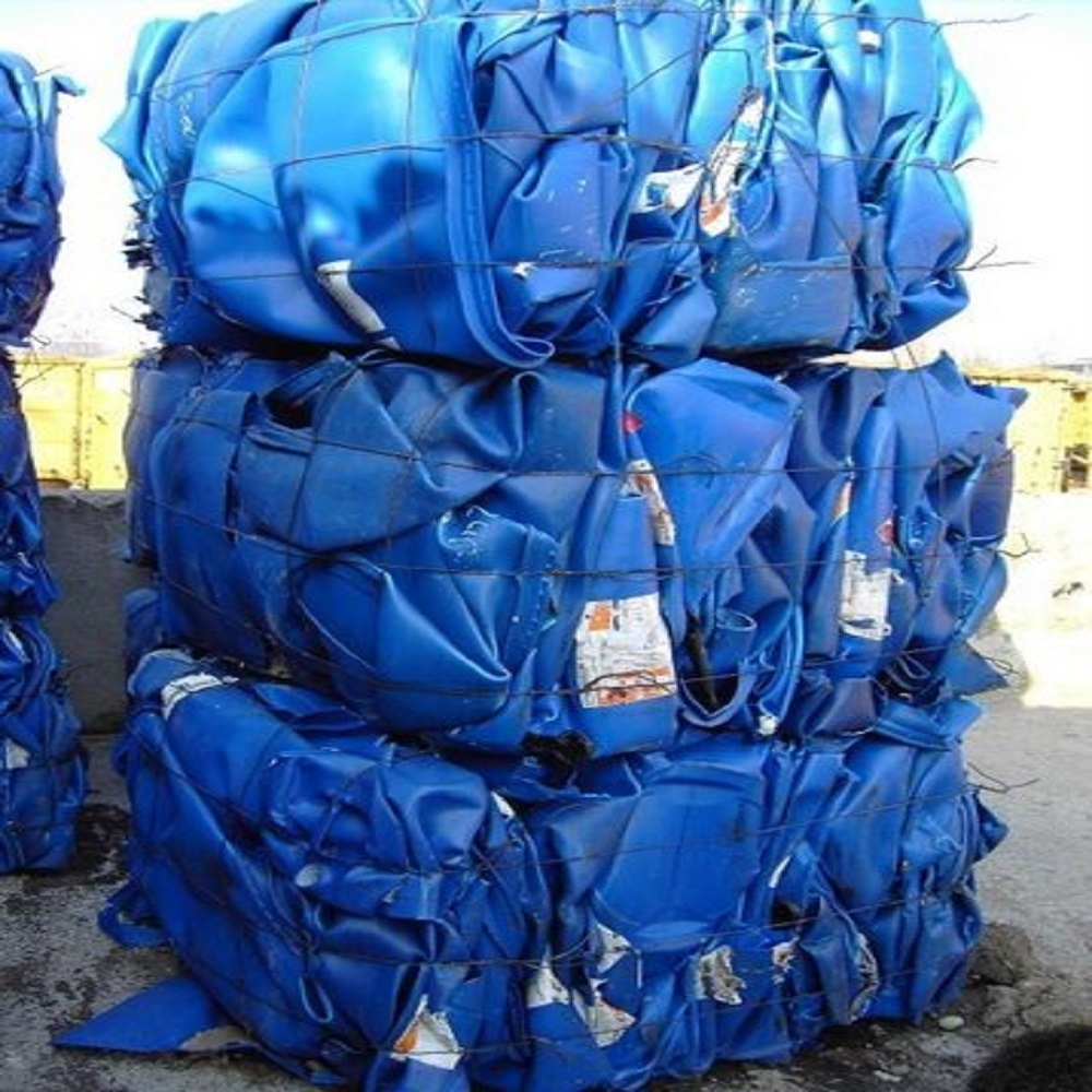HDPE Drum in baled