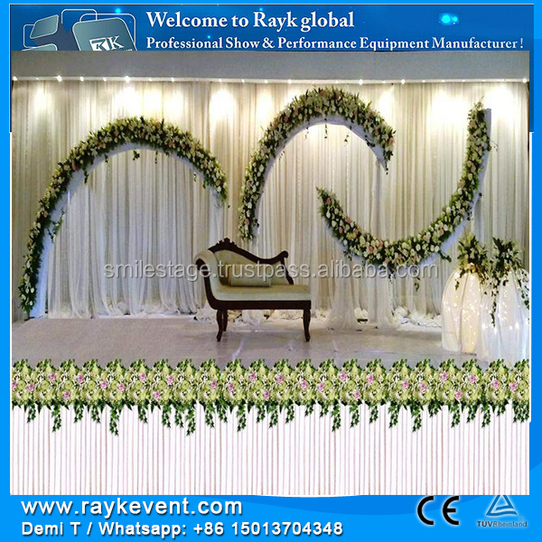 RK High Quality Pipe And Drape System tents for wedding events wedding stage backdrop decoration