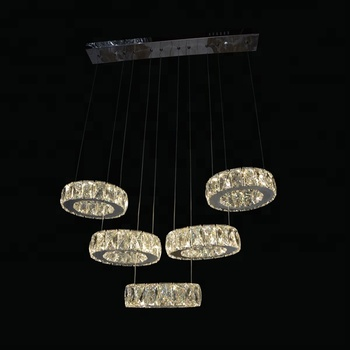 European 6 Unusual Bright Designer Glass Pendant Lighting in Dining Room Bar Cafe