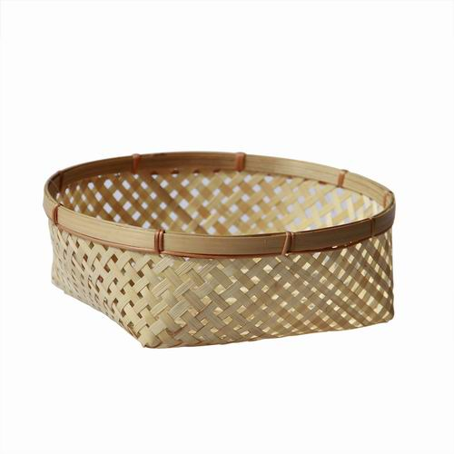 Handmade bamboo basket / cheap price bamboo storage basket