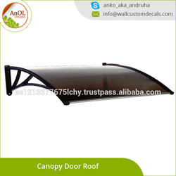 DIY Awnings / Polycarbonate Awning / Pc Window Canopy Door Canopy