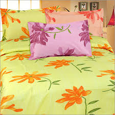 3 Pieces Bed Sheet Color Bedding Printed Bedding White Bed Sheet
