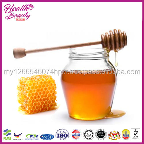 Malaysia sweet and good taste for beauty skin pure honey bee