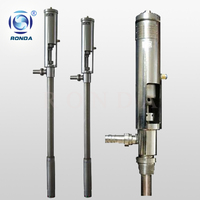 RFY stainless steel pneumatic piston pump pneumatic oil pump