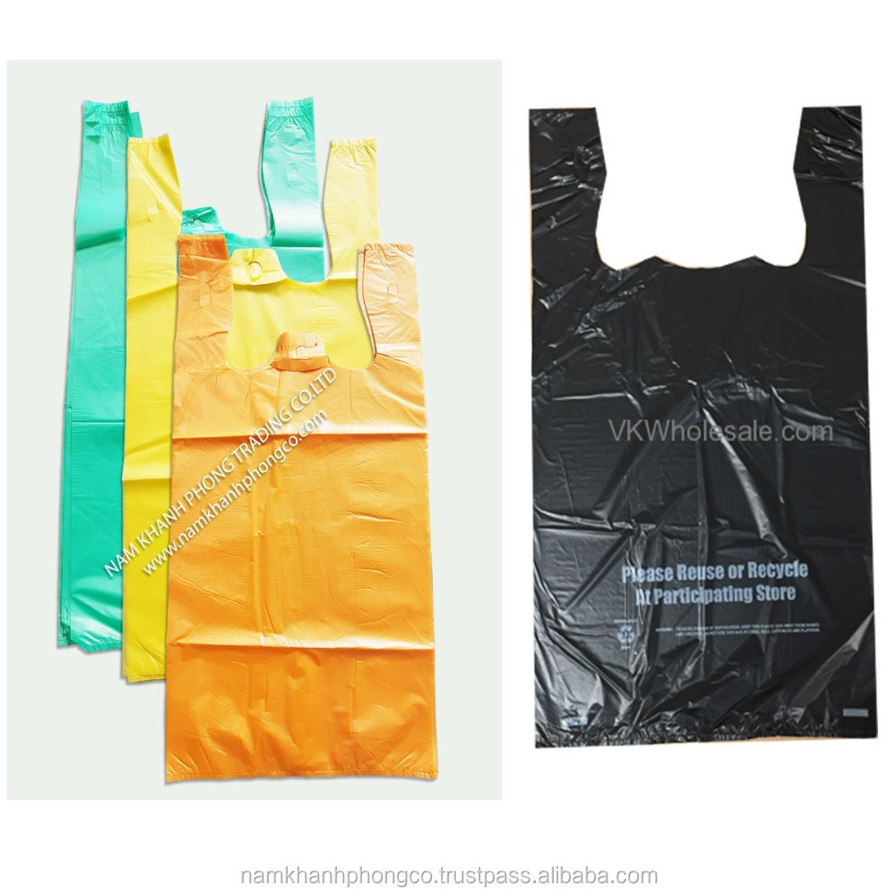 T-Shirt Storage food Plastic Bag Sliver Color Customized with Logo as request