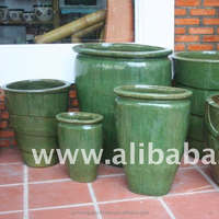 [wholesale] Outdoor glazed pottery - Ceramic flower pot for your home & garden: