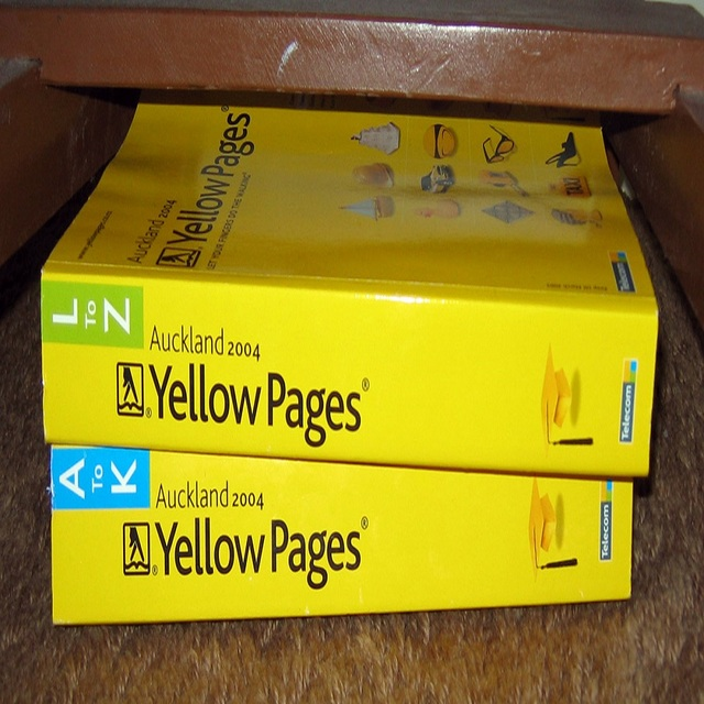 Old Telephone Directories Waste Paper Yellow Pages for sale