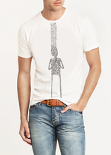 Mens organic GOTS certified cotton T shirt Printed