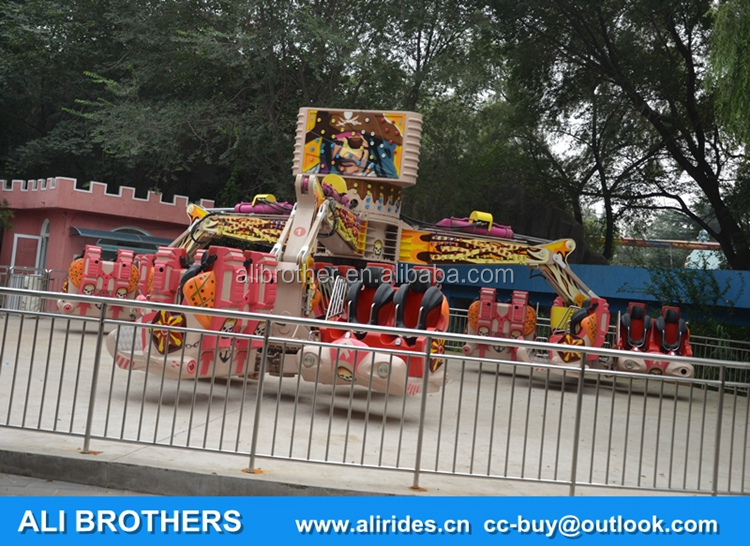 [Ali Brothers]Attractions supply energy storm for family fun