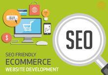 SEO friendly eCommerce website development at best prices