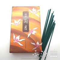 Koukando, Rangetsu, Bulk Pack, japanese wholesale incense, sandalwood agarbatti, stick incense, Orchid, Sandalwood, Herbal