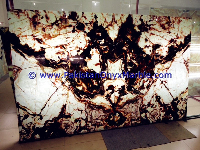 Professional Manufacturer Natural Stone BACKLIT ONYX SLABS COLLECTION