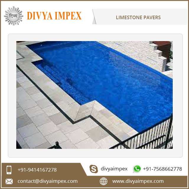 Low Price Outdoor Decorative Material Limestone Paver