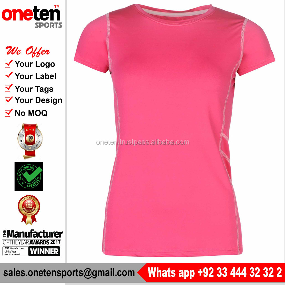 Women Summer Clothing New Design Compression Polo T-Shirts for Women - Women Wear