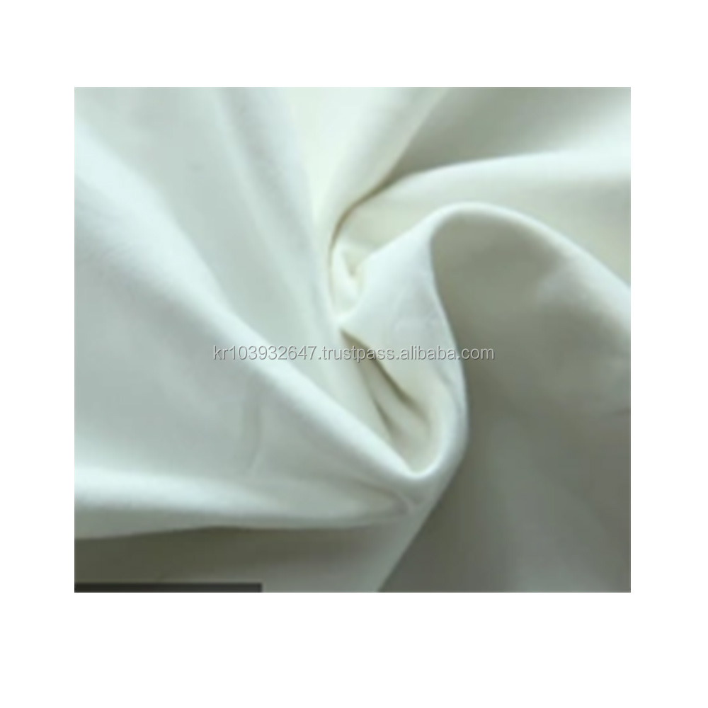 High quality and best price korean Bag 30su workwear uniform fabric organic cotton