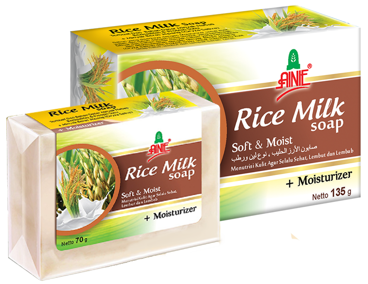 Ainie Rice Milk Soap