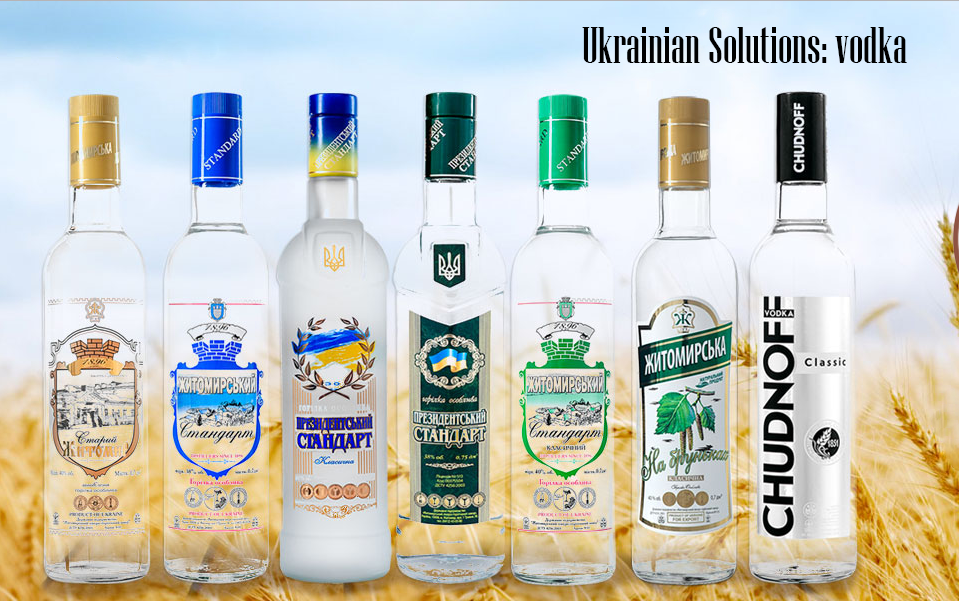 Ukrainian Premium Vodka